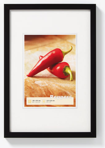 PEPPERS 20x30 BLACK