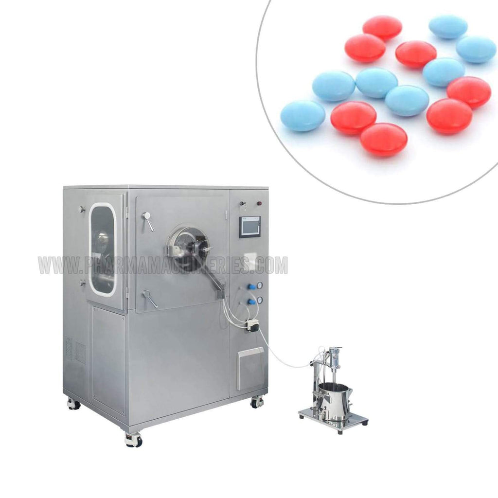 High-Efficiency Film Coating Machine - All Models