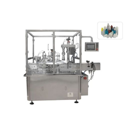 10ml 15ml 30ml liquid eye drop dropper bottle filling capping machine / pet plastic bottle liquid filling machine