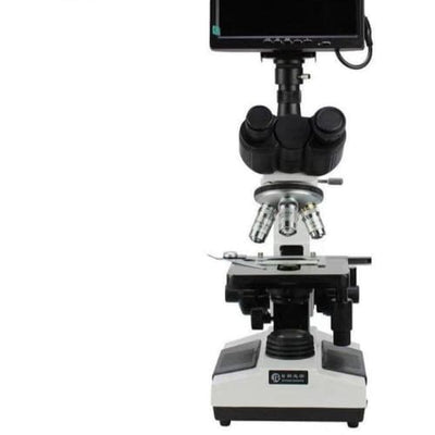 Biology video for tele medicine usb portable lcd digital metallurgical electric binocular microscope - Other Products