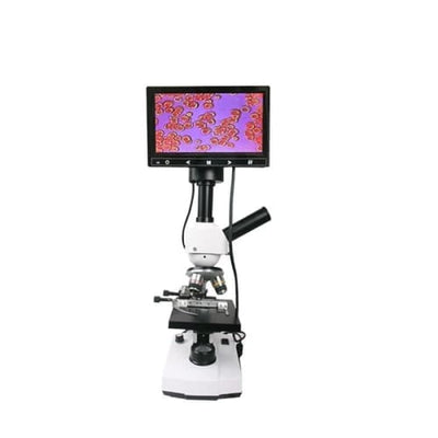 Blood analysis video lcd digital optical phone biological microscope - Other Products