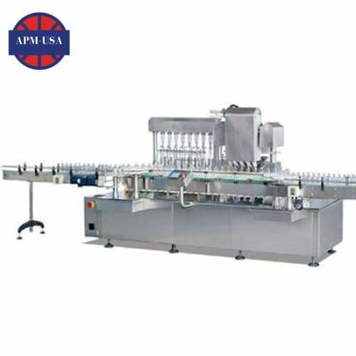 Bsyn Liquid Filling Machine with Pumping Nitrogen Filled and Adding Caps - Lyophilized Powder Production Line