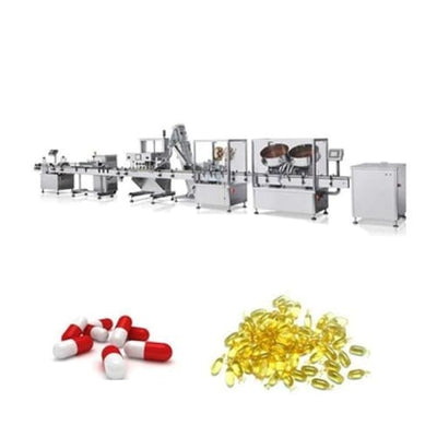 Capsule/tablet/pills counting -filling machine - Tablet and Capsule Packing Line