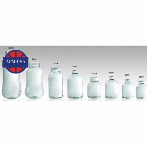 Clear Borosilicate Glass Usp Type i - Pharmaceutical Glass Bottle