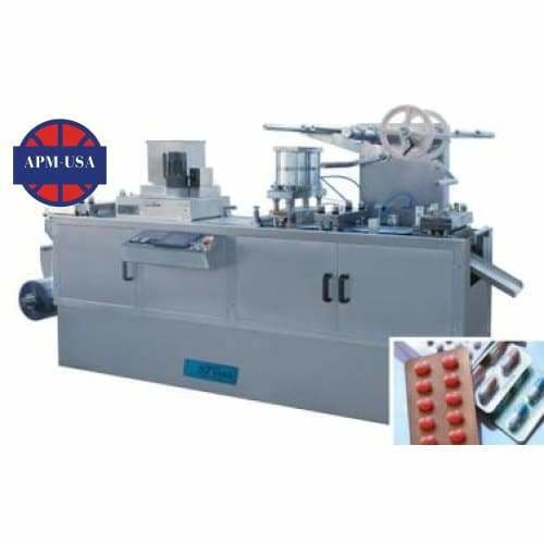 Dpb-250e Flat Plate Automatic Blister Packing Machine - Blister Packing Machine