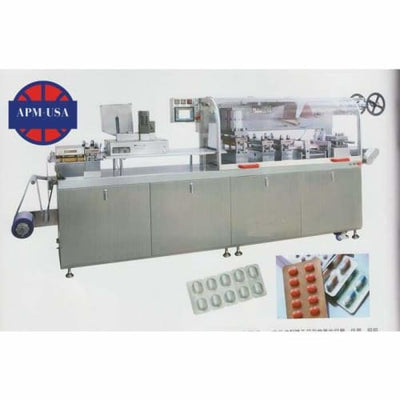 Dpb-260d Flat Plate Alu-plastic/alu-alu Automatic Blister Packing Machine - Blister Packing Machine