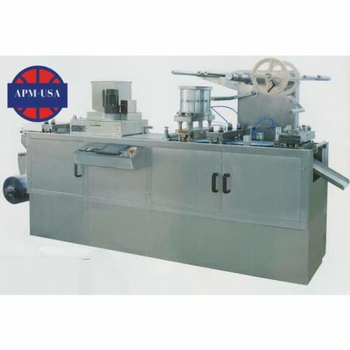 Dpb-320e Flat Plate Automatic Blister Packing Machine - Blister Packing Machine