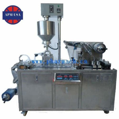 Dpp80 Min Type Honey Cheese Jam Automatic Blister Packing Machine - Blister Packing Machine