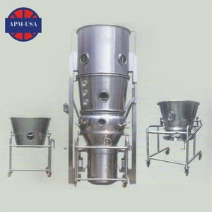 Dwy Series Multifunctional Pilling Coaters - Granulator Machine