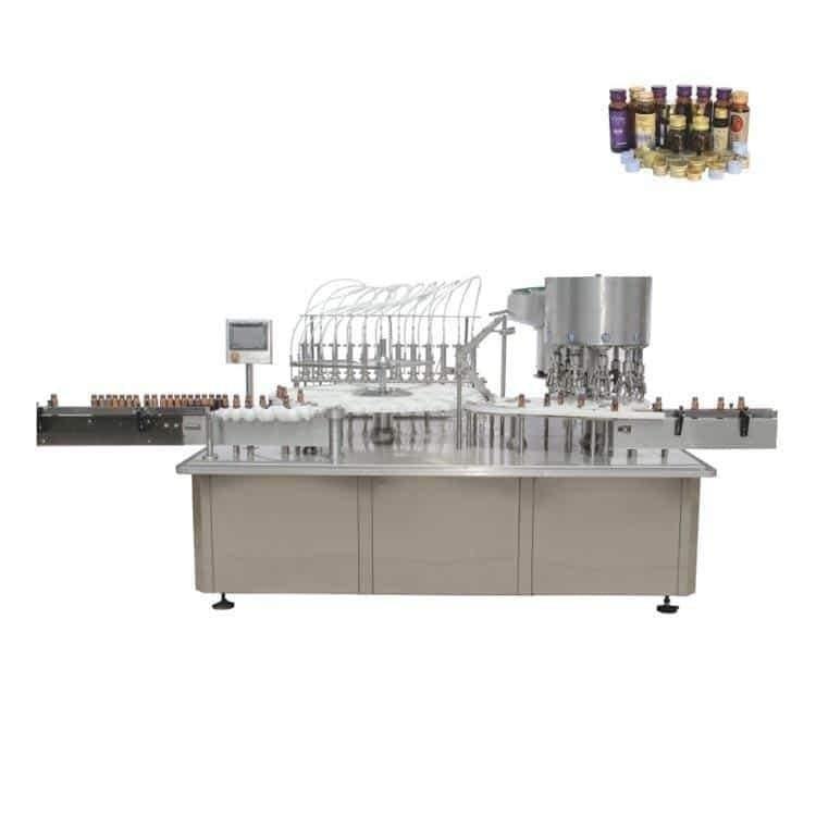 factory oral liquid vials small bottles filling capping machine
