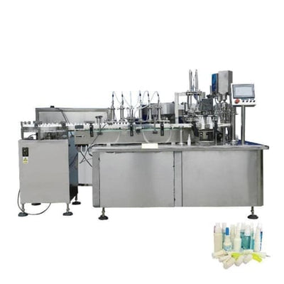 Full automatic aerosol spray flammable liquid small bottle filling machine - Spray Filling Machine