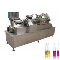 Glass bottle ampule filling sealing machine with 12-16 filling heads - Ampoule Bottle Production Line