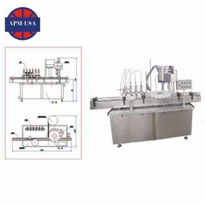 Hhg-i Liquid-filling & Capping Machine - Liquid Filling Machine