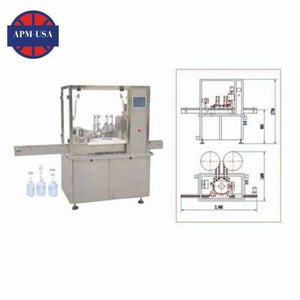 Hhgnx-ii Eye Drop Filling-capping Machine - Eyes Drop Filling