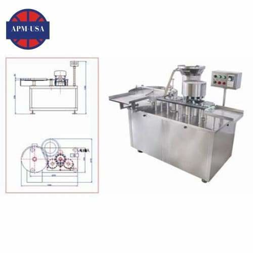 Hhzg High-speed Capping Machine - Liquid Filling Machine