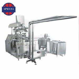 Model Krsrj Suppository Vacuum Emulsifying Complete Equipment - Suppository Machine