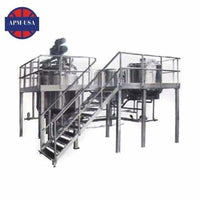Outside Circulating Type Vacuum Emulsifying Machine - Emulsifying Machine