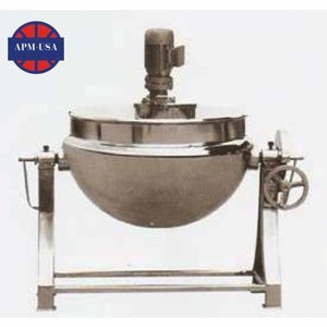 Tilting Double-layered Cauldron - Chinese Medicine Machine