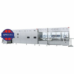 Vial Washing Sterilization Filling Stoppering Linkage Line - Injection Vial Powder Filling Productio Line