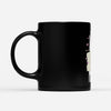 Unicorns Poop Butterflies Funny - Black Mug
