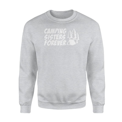 Camping Sisters Forever cool design graphic camping shirt - Standard Fleece Sweatshirt - Apparel