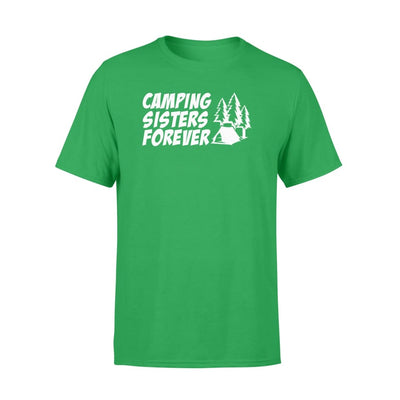 Camping Sisters Forever cool design graphic camping shirt - Standard T-shirt - Apparel