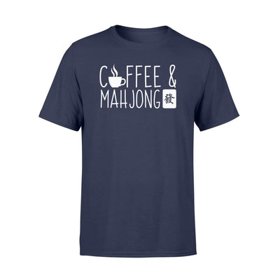 Coffee And Mahjong Lovely Design GIfts Shirt - Standard T-shirt - Apparel