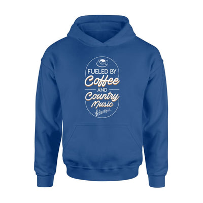 Fueled By Coffee And Country Music Men Women Clothing - Standard Hoodie - Apparel