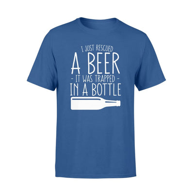 I Just Rescued Beer Trapped In Bottle Funny Beer Lover Gift - Standard T-shirt - Apparel