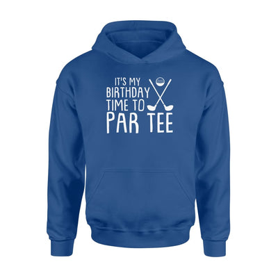 its my birthday time par tee cool Mini Golf Birthday gift - Standard Hoodie - Apparel