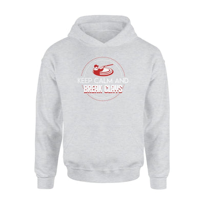 Keep Calm And Break Clays Skeet Shooting Gifts Shirt - Standard Hoodie - Apparel