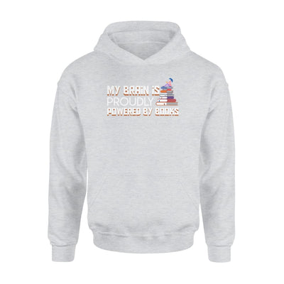 My Brain Is Proudly Powered By Book Women Clothing - Standard Hoodie - Apparel