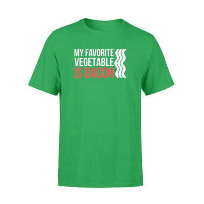 My Favorite Vegetable is Bacon funny Bacon Lover gift - Standard T-shirt - Apparel