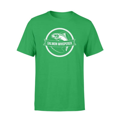 Salmon Fishing Whisperer Lovely Saying Shirt - Standard T-shirt - Apparel