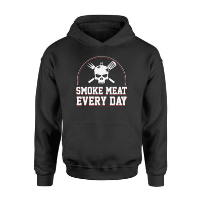 smoke meat everyday funny design meat bbq gifts shirt - Standard Hoodie - Apparel