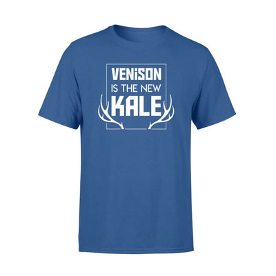 Venison Is The New Kale Deer Hunting Funny Saying Shirt - Standard T-shirt - Apparel
