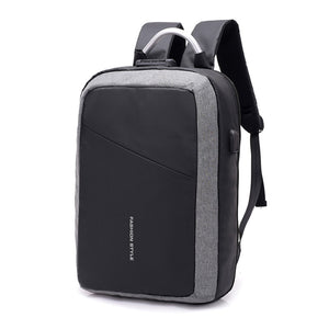 "Laptop Backpack Rucksack Fits 15.6"" Laptops with USB Charging"