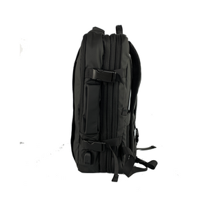 Expandable Rucksack / Backpack with In-built USB Charging Port