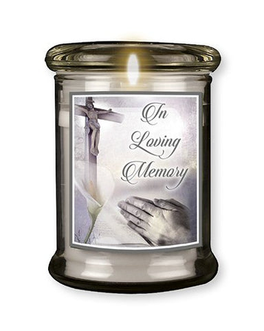 LED Memorial Grave Light -Glass-Memory