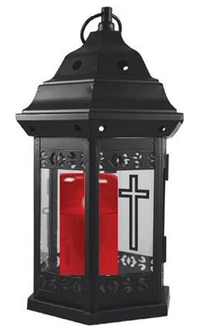 Grave Lantern with Battery Grave Light