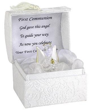 First Holy Communion Glass Angel-Holy Communion-Serenity Gifts