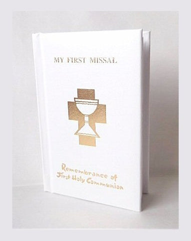 First Communion - My First Missal - Padded Cover