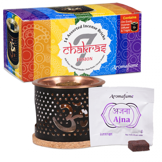 Aromafume Chakra Incense Gift Box-Incense-Serenity Gifts