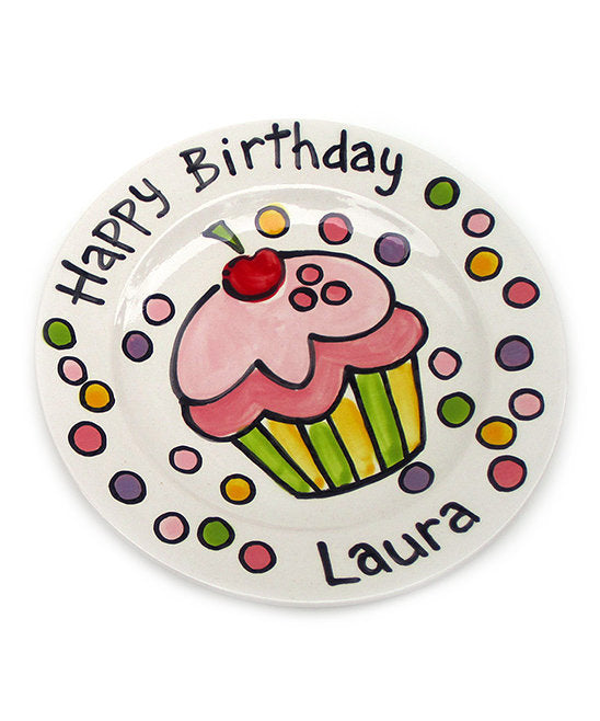 Personalized Birthday Plate 7
