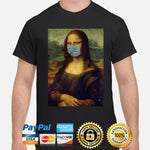 Mona Lisa Mask T-Shirt