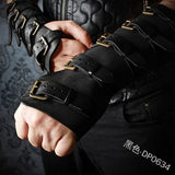 Viking Warrior Leather Gauntlets