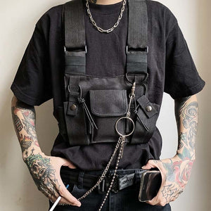 Street Style Military Chest Rig
