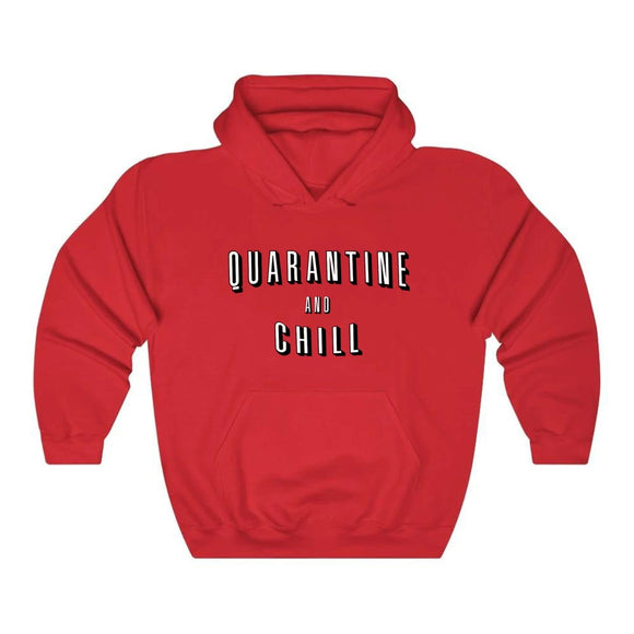 Men's Quarantine and chill Hoodie Sweatshirts Casual Harajuku Hooded Sweatshirts Streetwear Hoodie Streetwear,