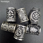 Viking Runes Beads Beard/Hair