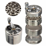 4-layer Aluminum Herbal Herb Tobacco Grinder